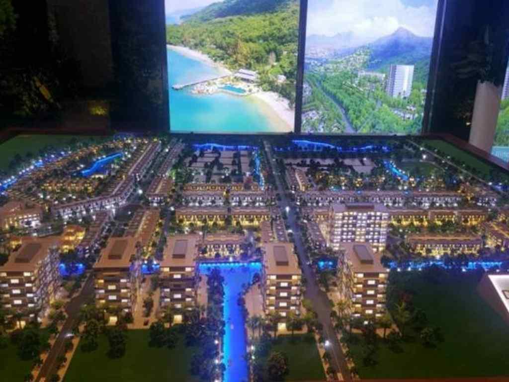 hình sa bàn dự án dragon village quận 9