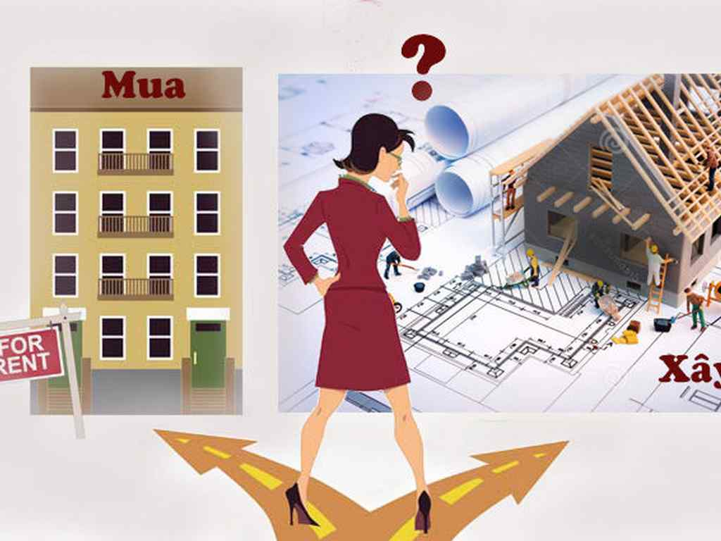 Nên mua nhà hay mua đất xây nhà