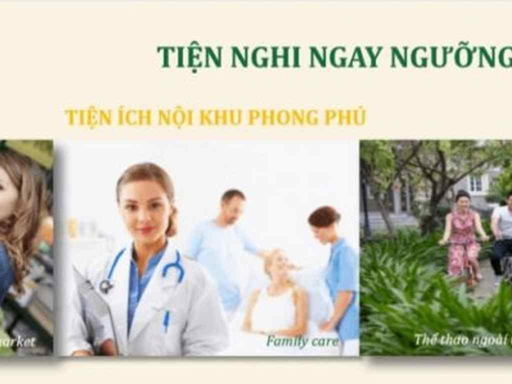 Tiện ích nội khu dự án dragon village phú long