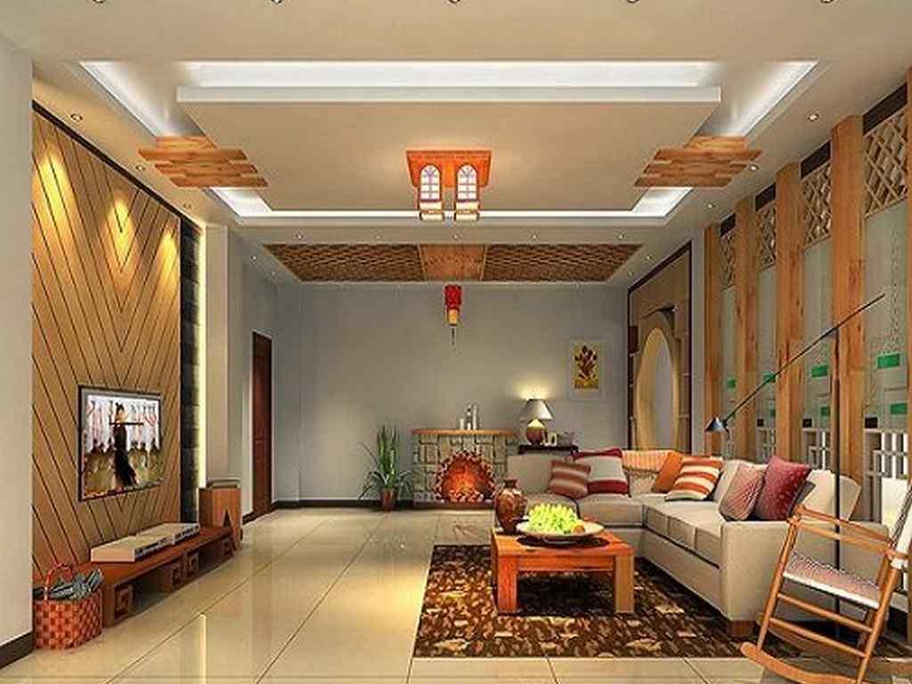 Trần thạch cao đẹp cho phòng khách