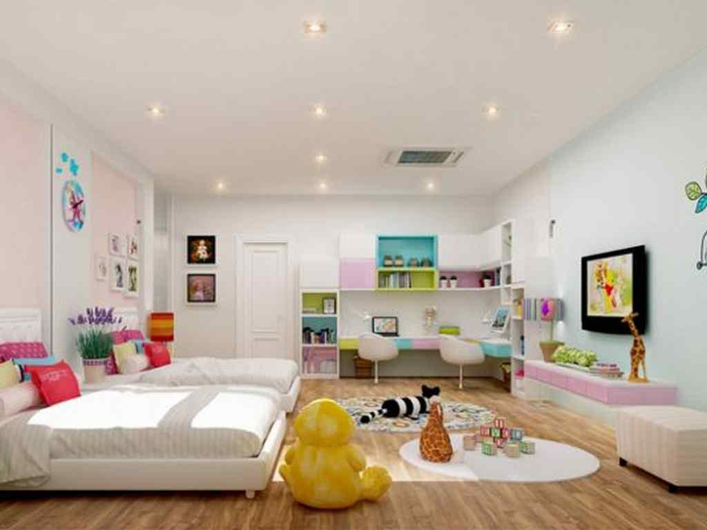 Trần thạch cao cho phòng trẻ em đẹp
