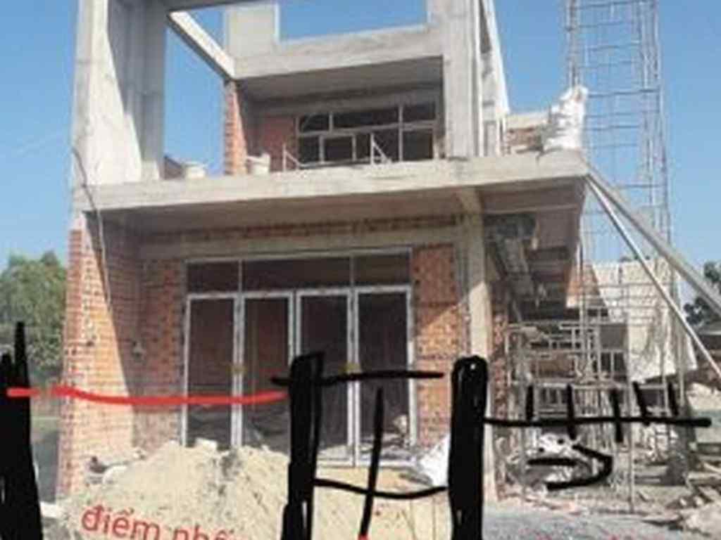 Nhà một trệt một lầu giá thi công 1.3 triệu/m2