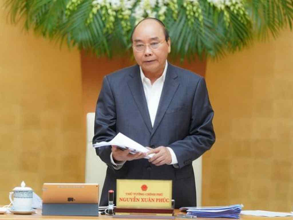 hủ tướng ký ban hành nghị quyết về gói an sinh xã hội - Ảnh: CHÍNH PHỦ