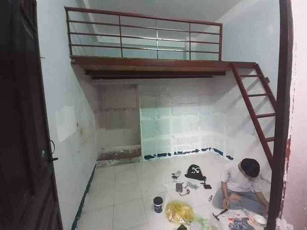 Căn phòng trọ cũ giá thuê 1.6 triệu