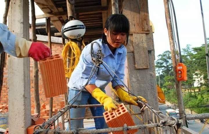 Công việc của nghề thợ hồ